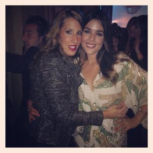 Con Adriana Ugarte en los premios Cosmopolitan